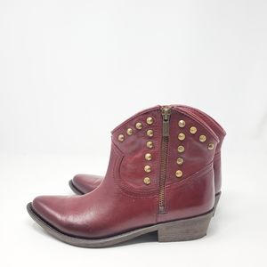NEW LUCKY BRAND LEATHER BOOTIE Lucky brand cicily